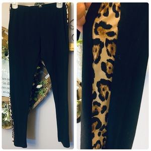 Victoria Secret Cheetah Striped Leggings